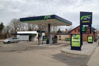 Brændstofteknik Benzinstation